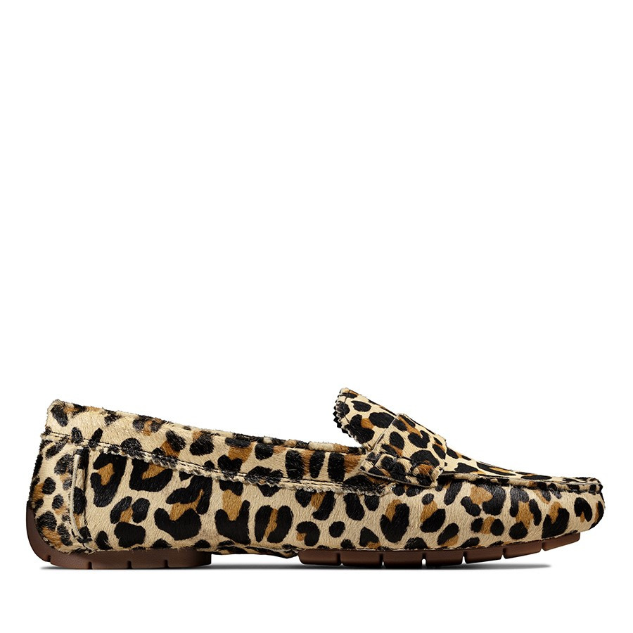 Clarks C Mocc Leopard