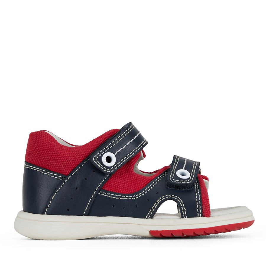 Clarks Kurt Navy/Red