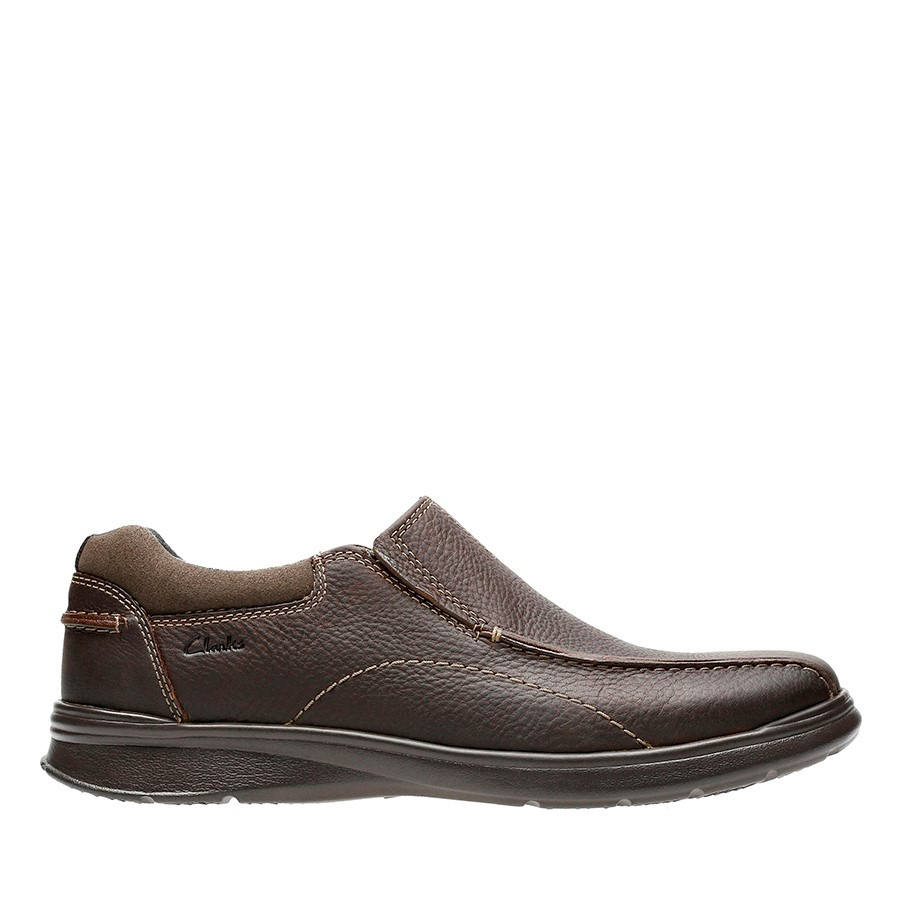 Clarks Cotrell Step Brown Oily