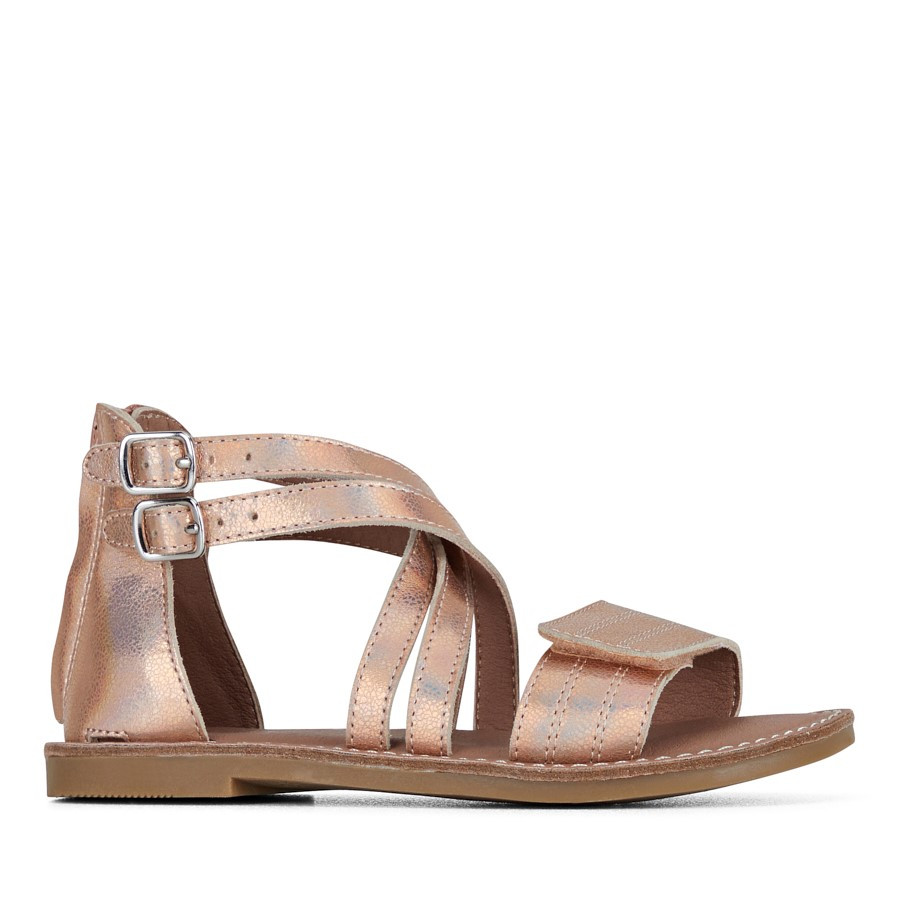 Clarks Ivy Ii Rose Gold Holo