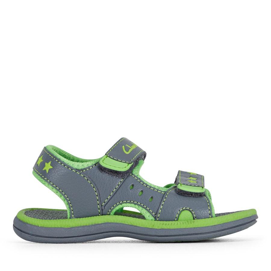 Clarks Flip Grey/Lime