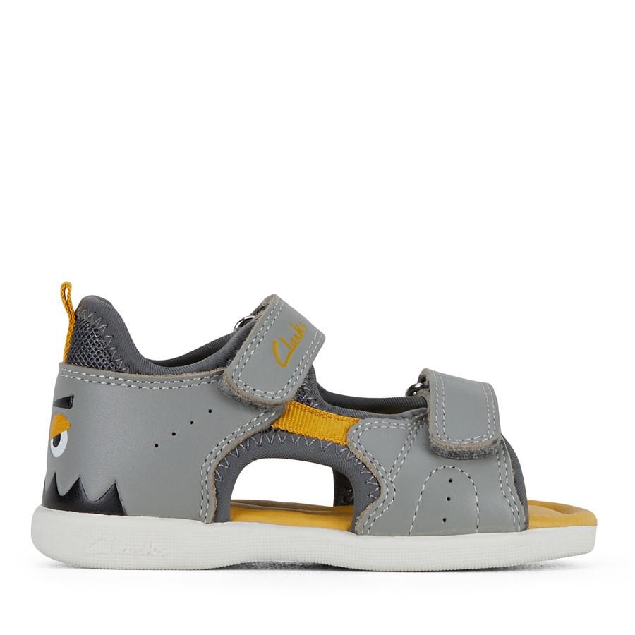 Clarks Skeet Grey/Yellow