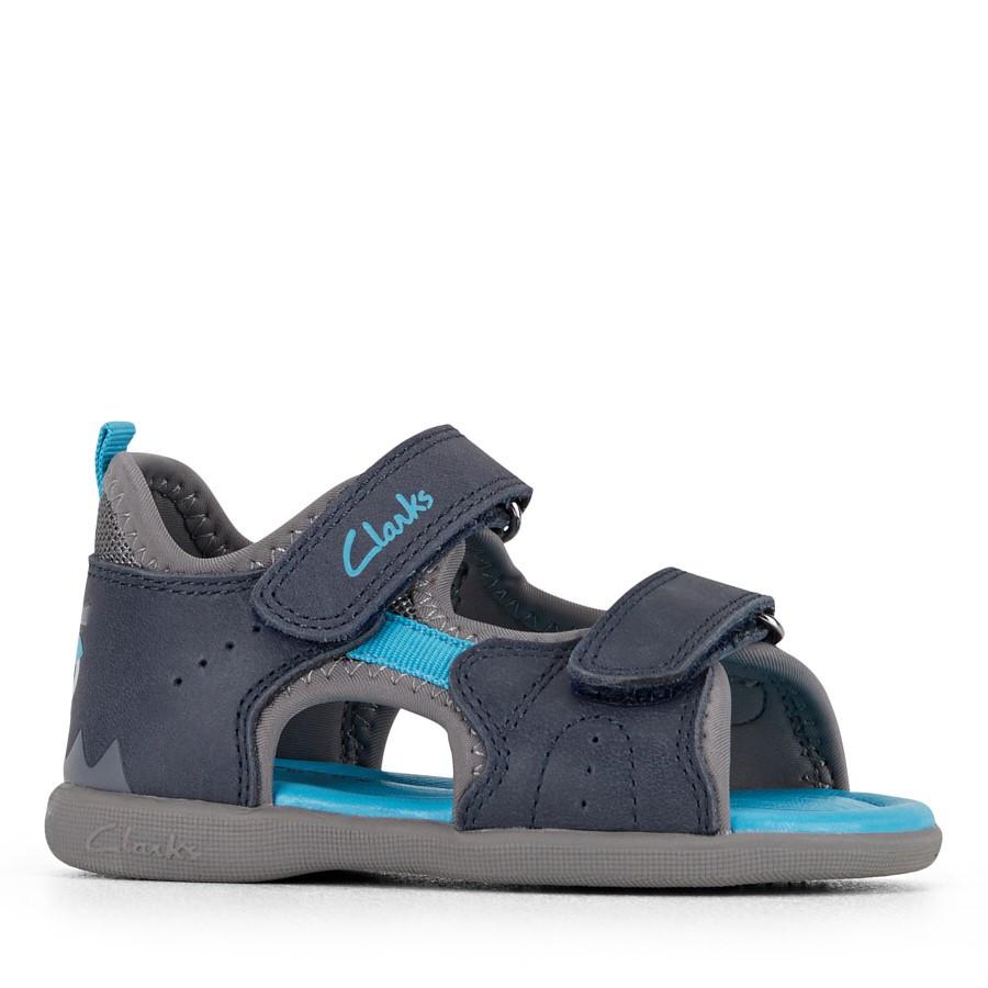 Clarks Skeet Navy/Blue/Grey