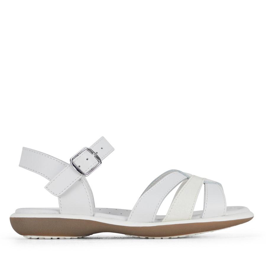 Clarks Petal Ii White/Glitter