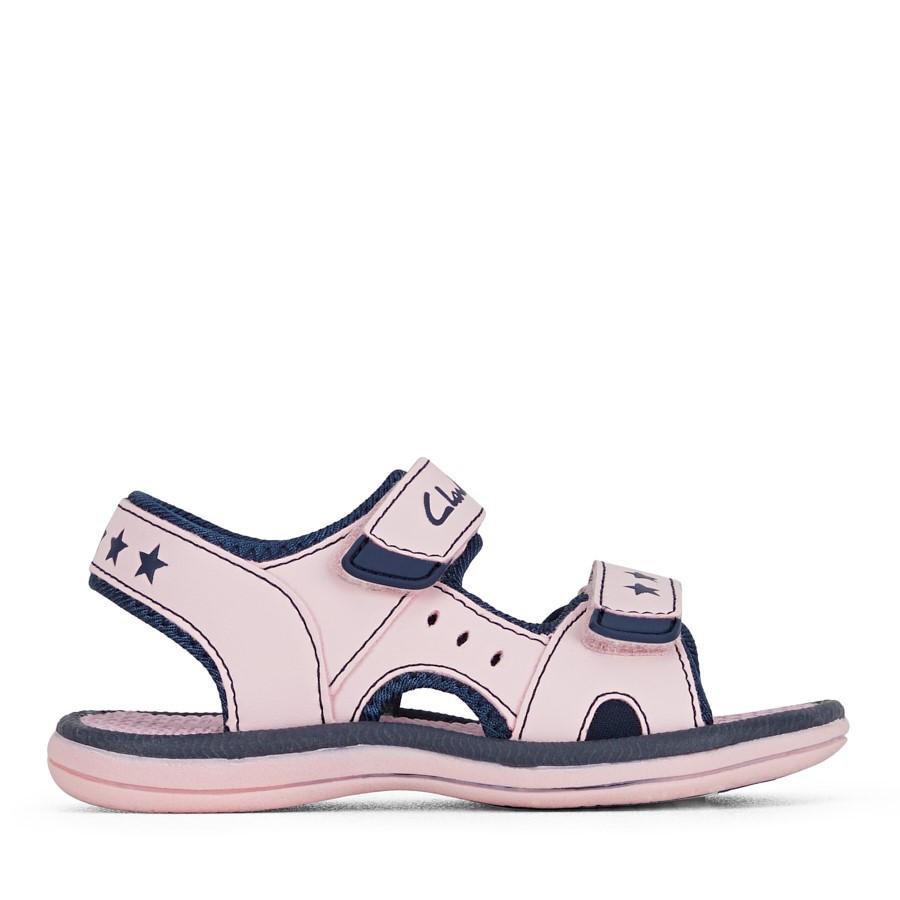 Clarks Flip Pink/Navy