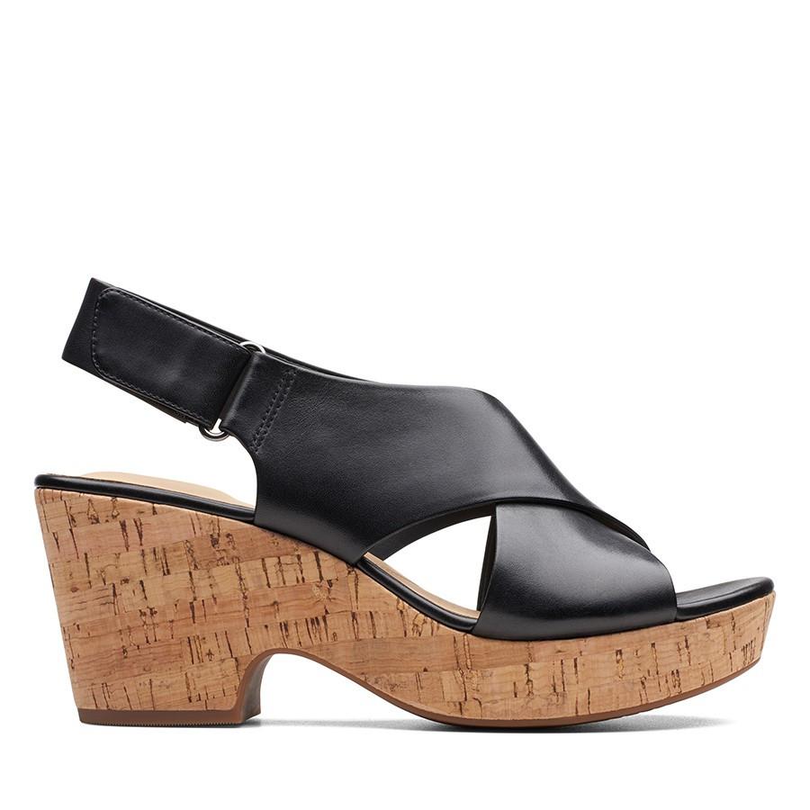 Clarks Maritsa Lara Black Leather