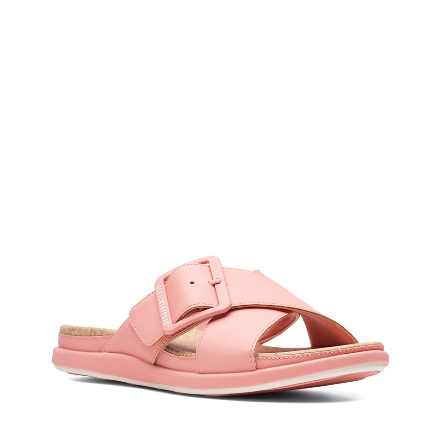 Clarks Step Juneshell Coral Synthetic