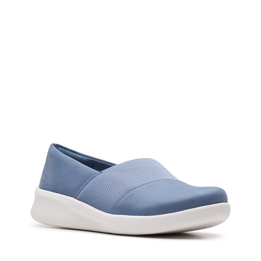 Clarks Sillian2.0 Moon Blue Grey Textile