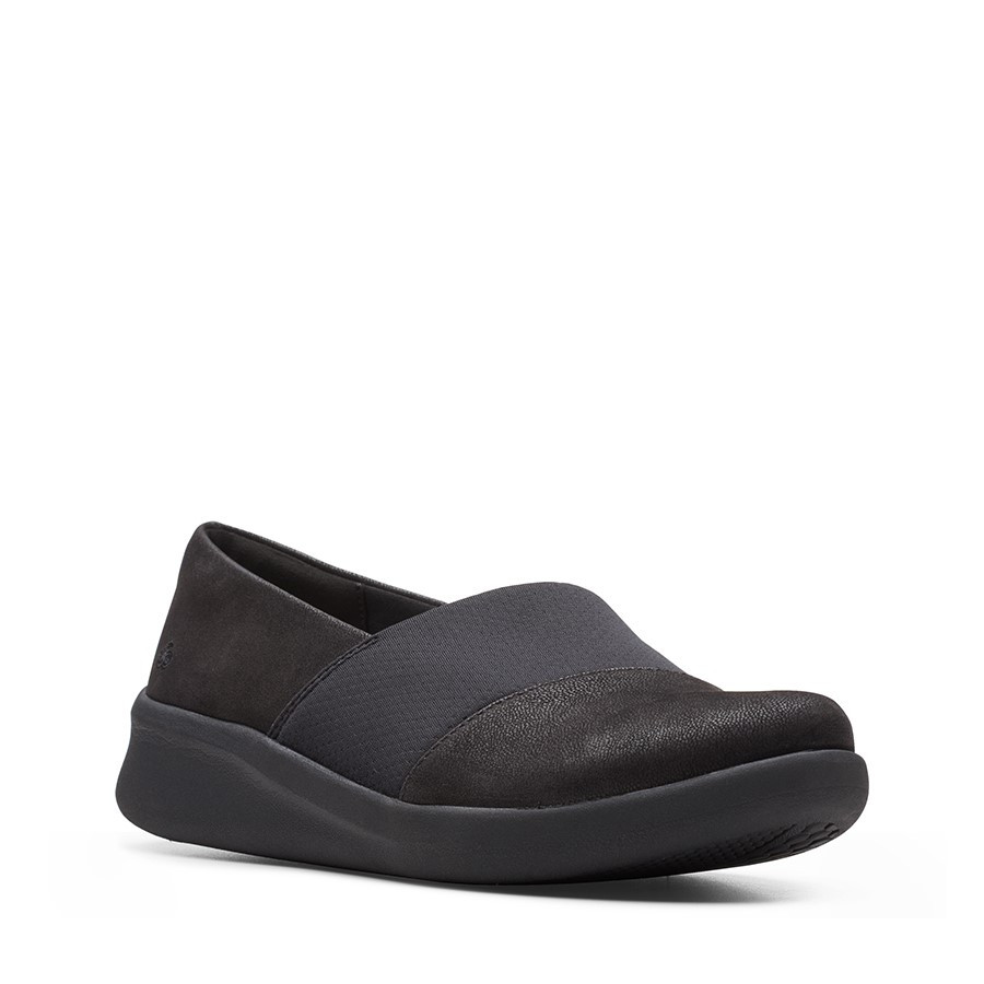 Clarks Sillian2.0 Moon Black Synthetic