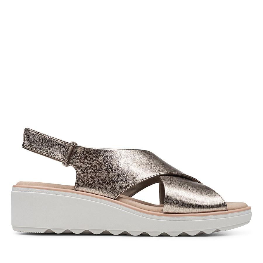 Clarks Jillian Jewel Metallic Leather