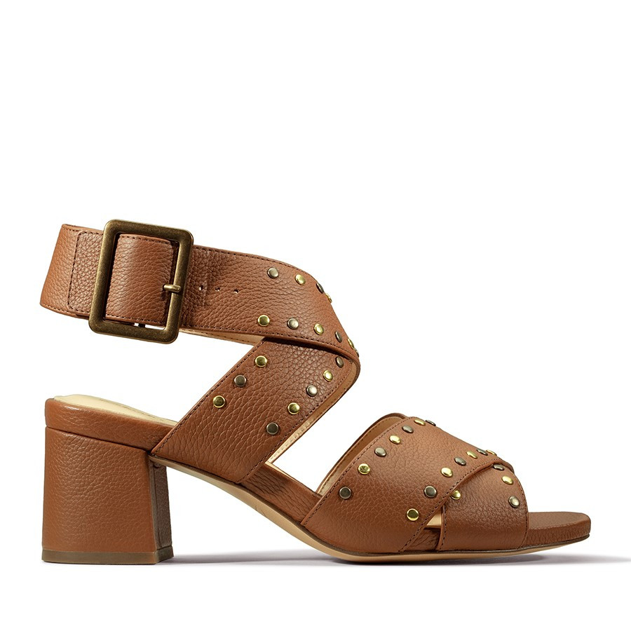 Clarks Sheer55 Buckle Tan Leather