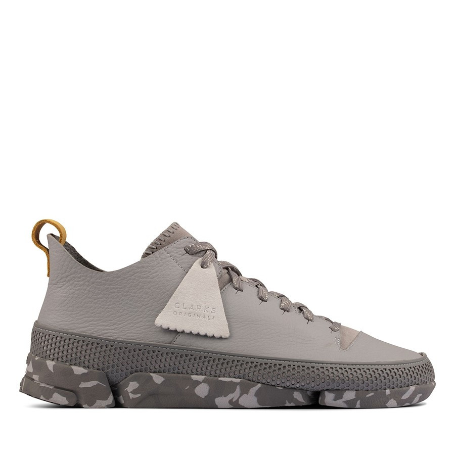 Clarks Trigenic Flex Light Grey Multi
