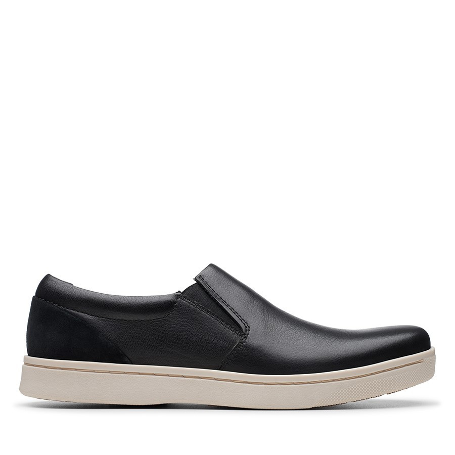 Clarks Kitna Free Black Leather