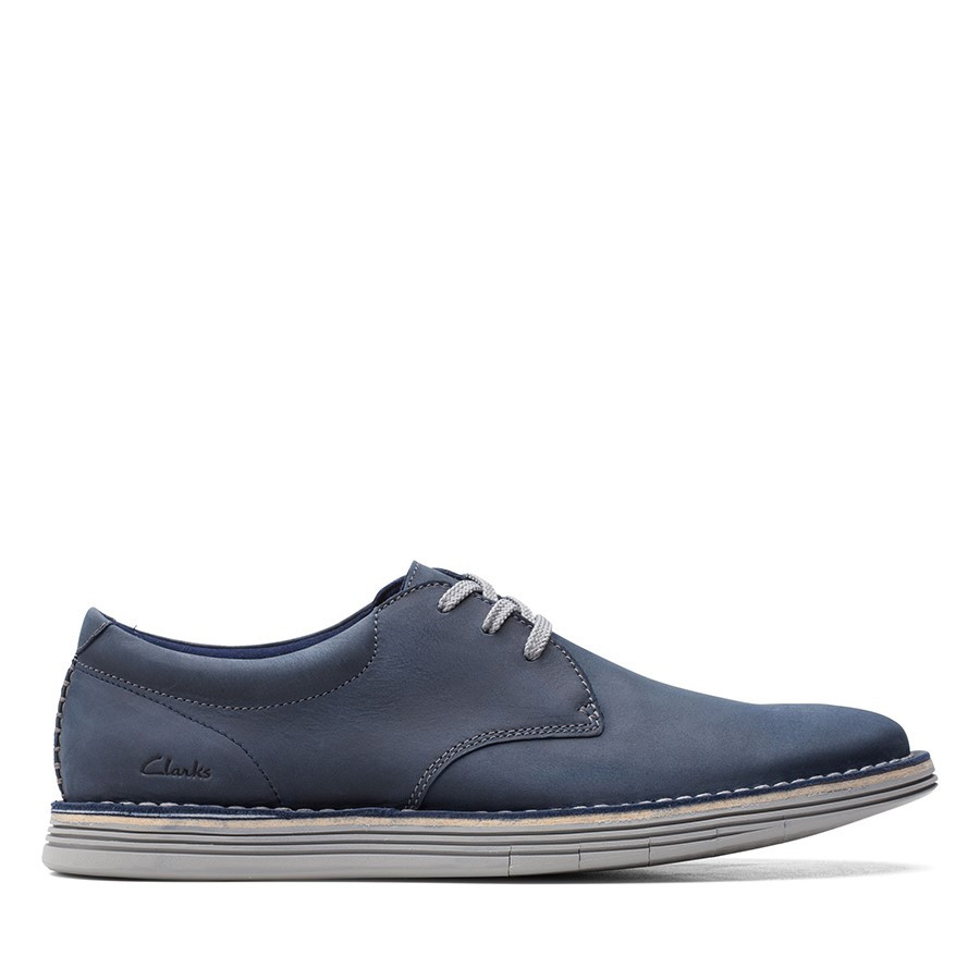 Clarks Forge Vibe Navy Leather