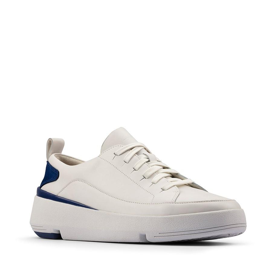 Clarks Tri Flash Lace White/Blue