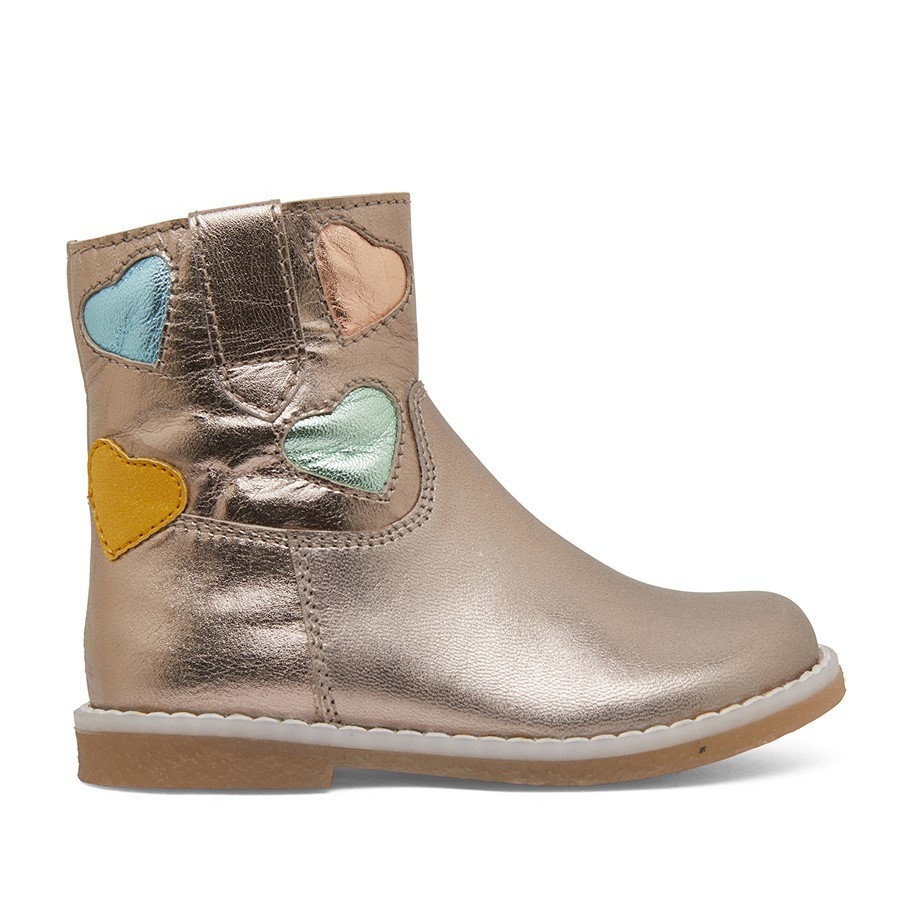 Clarks Charlotte Inf Pebble Metallic