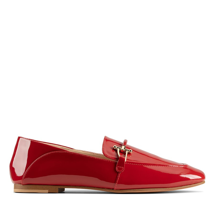 Clarks Pure2 Loafer Red Patent