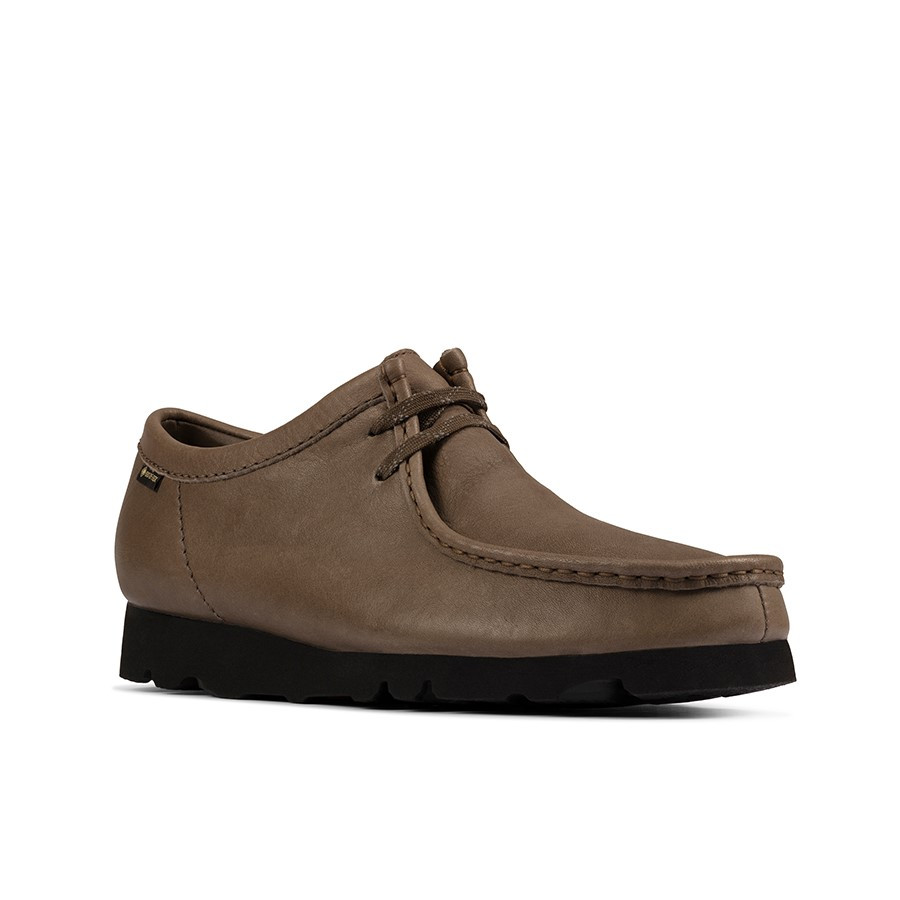 Clarks Wallabee Gtx (M) Olive Leather
