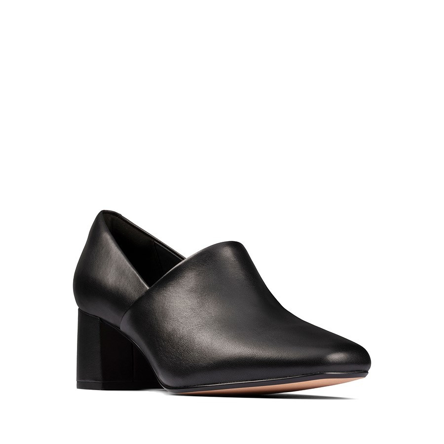 Clarks Sheer Lily 2 Black Leather