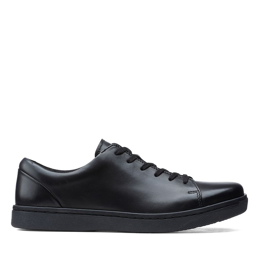 Clarks Kitna Lo Black Leather