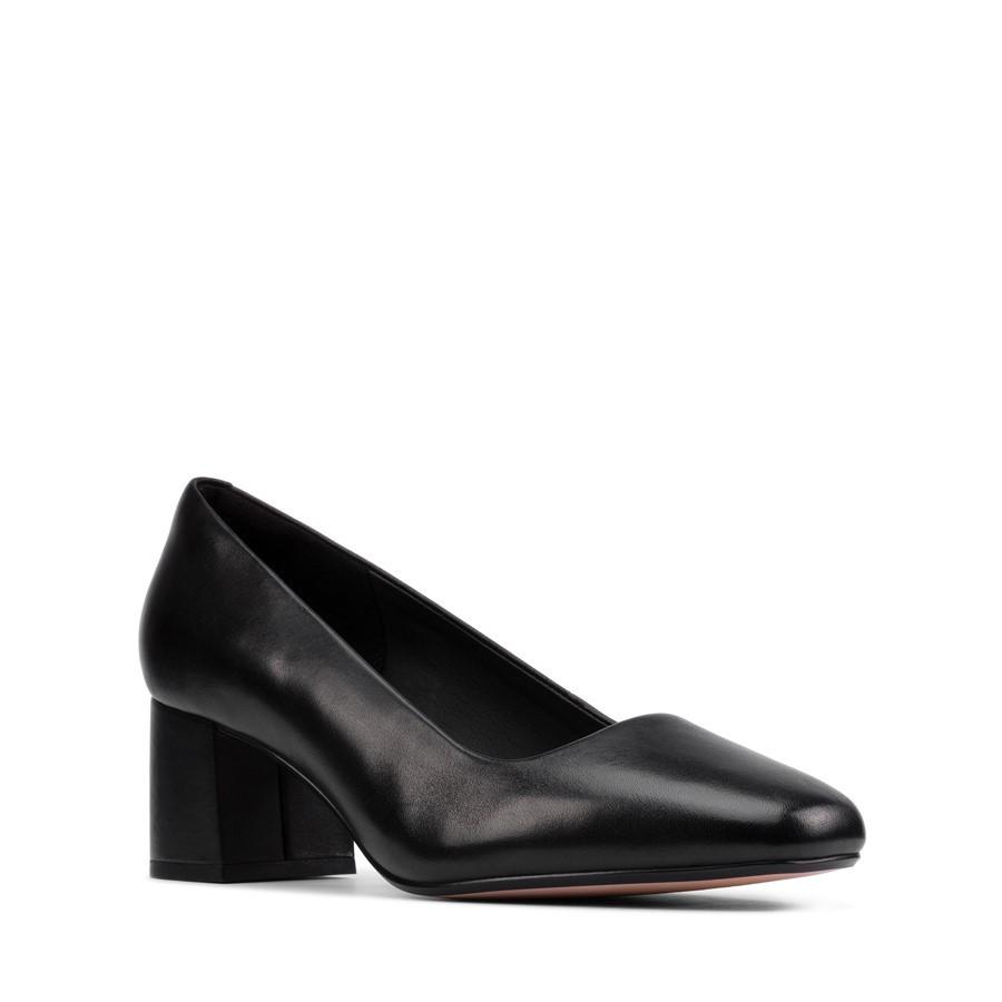 Clarks Sheer Rose 2 Black Leather
