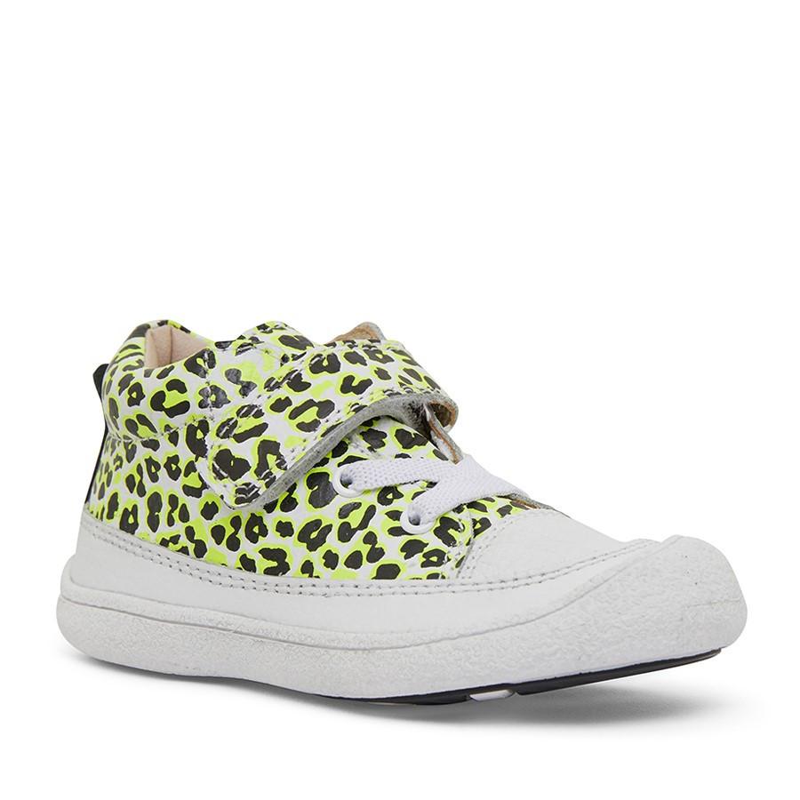 Clarks Kinsey Yellow Leopard