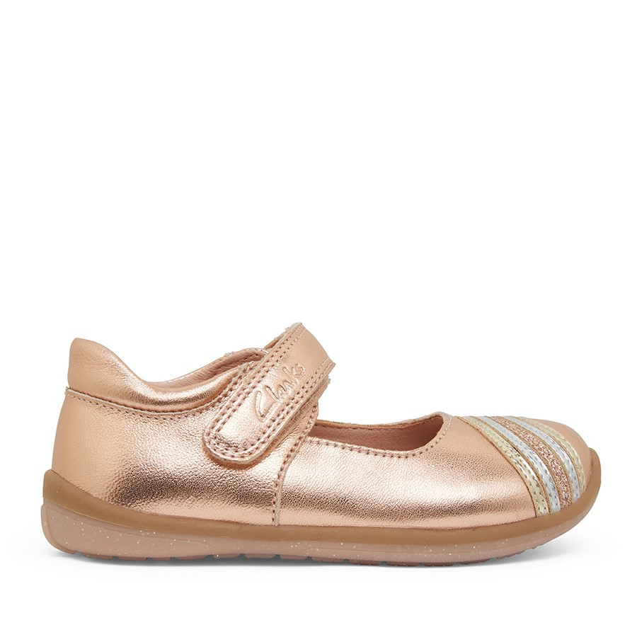 Clarks Merry Rose Gold