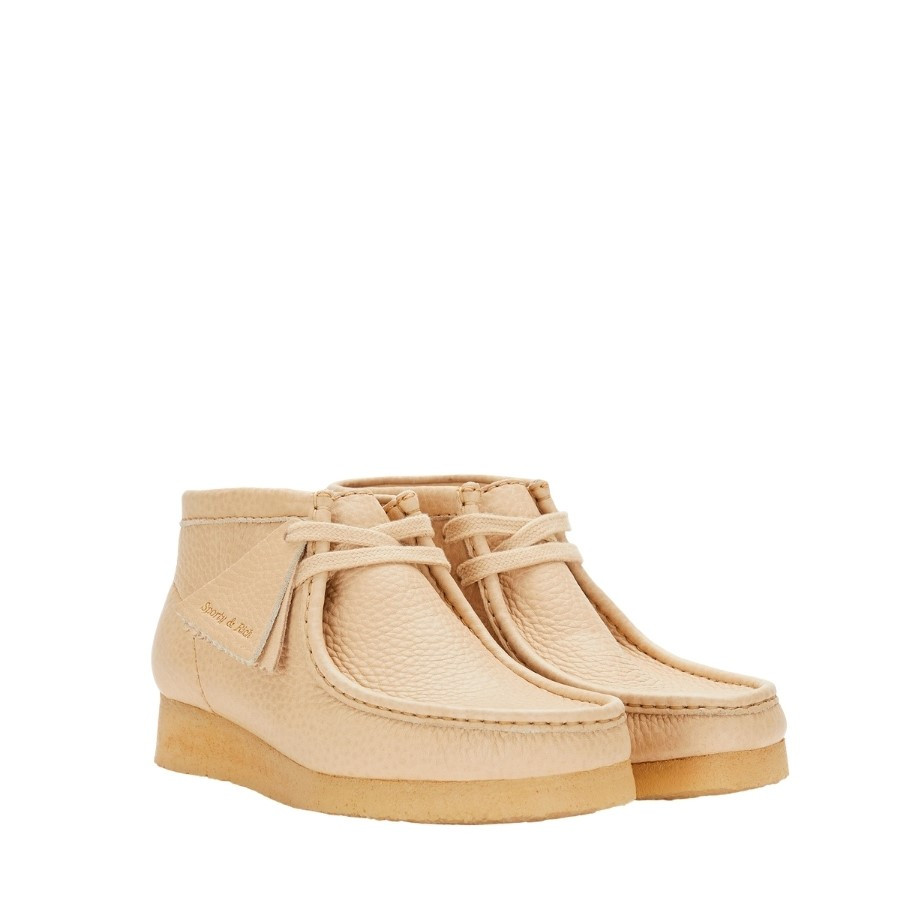 Clarks Wallabee X Sporty & Rich Off White