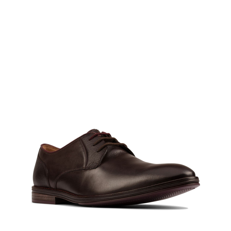 Clarks Citistride Lace Dark Brown