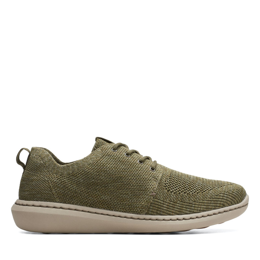 Clarks Step Urban Mix Olive Green