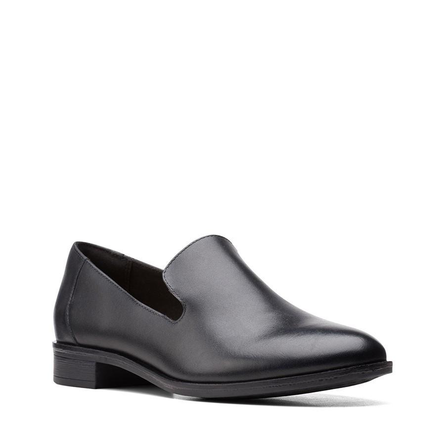 Clarks Trish Style Black Leather