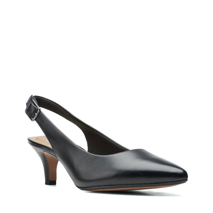 Clarks Linvale Sondra Black Leather