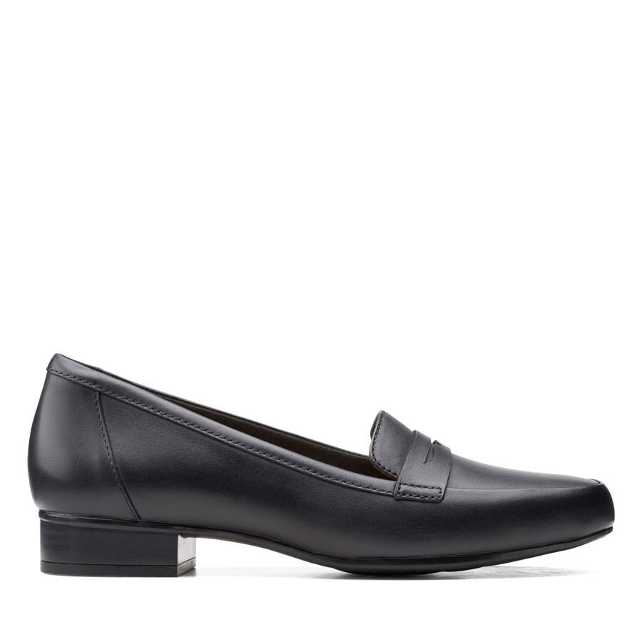 Clarks Juliet Coast Black Leather