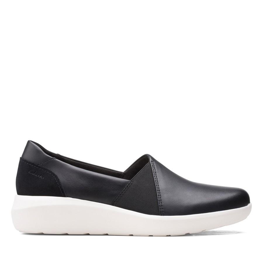 Clarks Kayleigh Step Black Leather