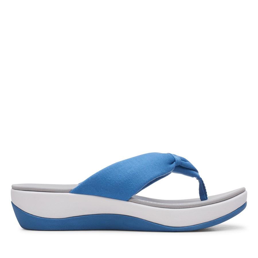 Clarks Arla Glison Blue Solid Textile