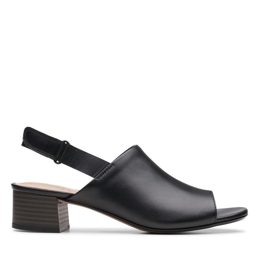 Clarks Elisa Lyndsey Black Leather