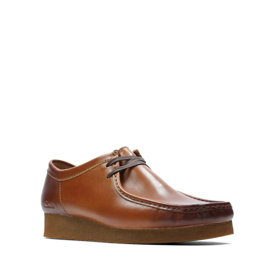 Clarks Wallabee 2 Light Tan Leather