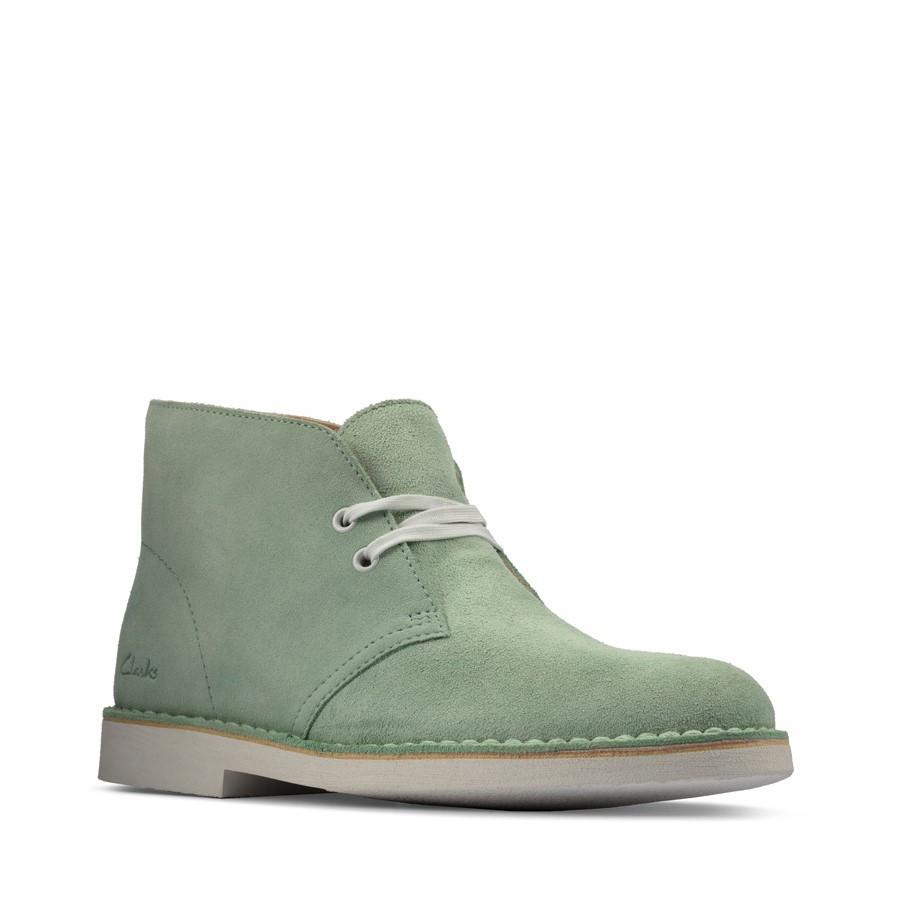 Clarks Desertboot Comfort Womens Mint Green