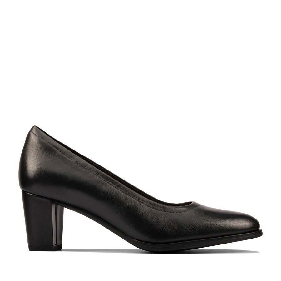 Clarks Kaylin60 Flex Black Leather