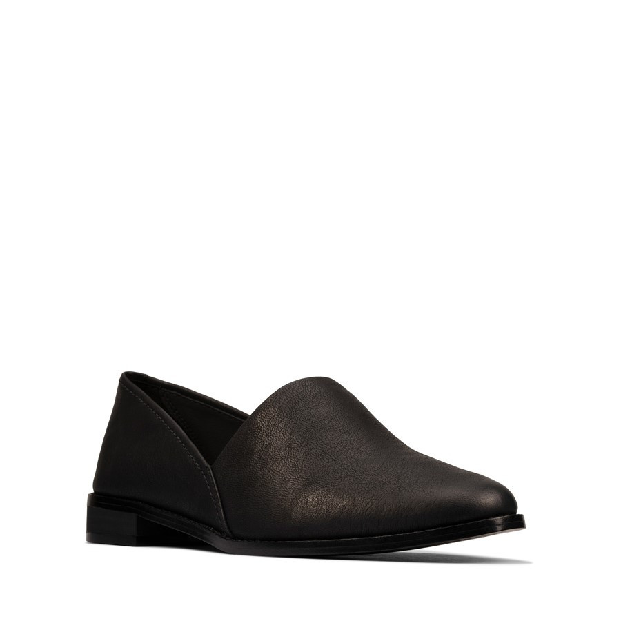 Clarks Pure Easy Black Leather