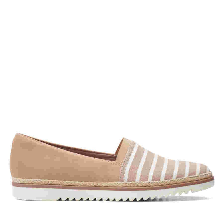 Clarks Serena Paige Sand Combo Suede