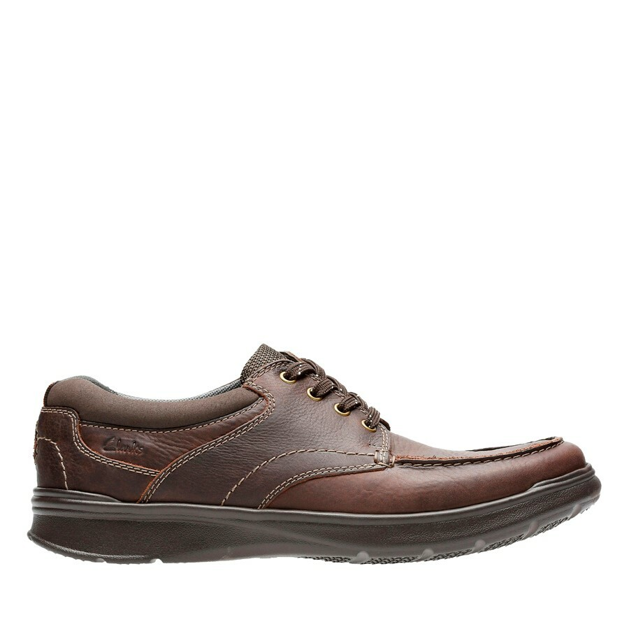 Clarks Cotrell Edge Brown Oily