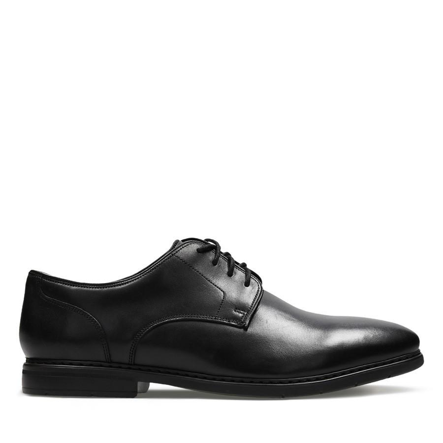 Clarks Banbury Lace Black Leather