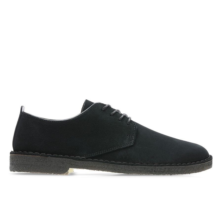 Clarks Desert London 2 Black Suede