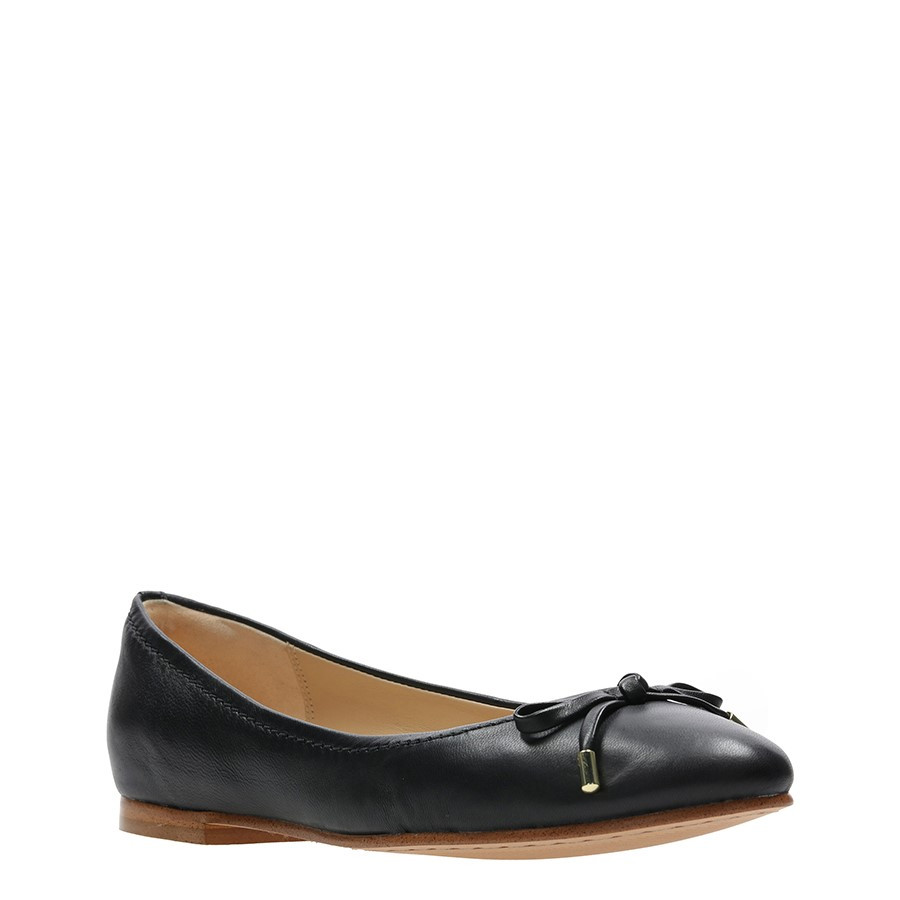 Clarks Grace Lily Black Leather