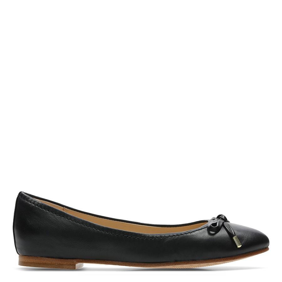 Clarks Grace Lily Black Leather
