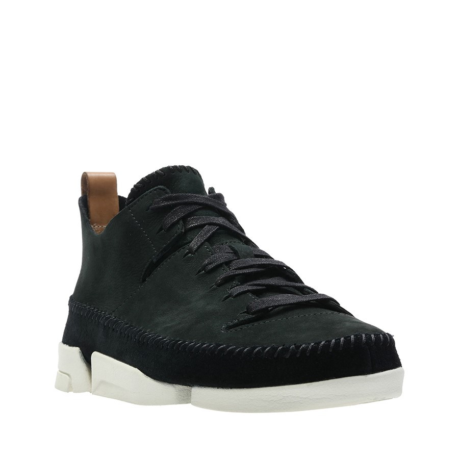 Clarks Trigenic Flex Black Nubuck