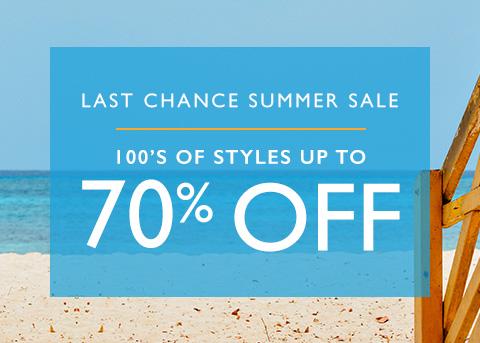 Shop Last Chance Sale