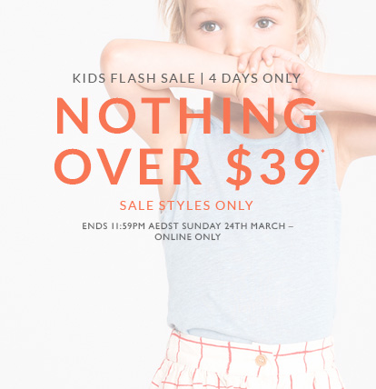 Kids Sale Nothing Over $39
