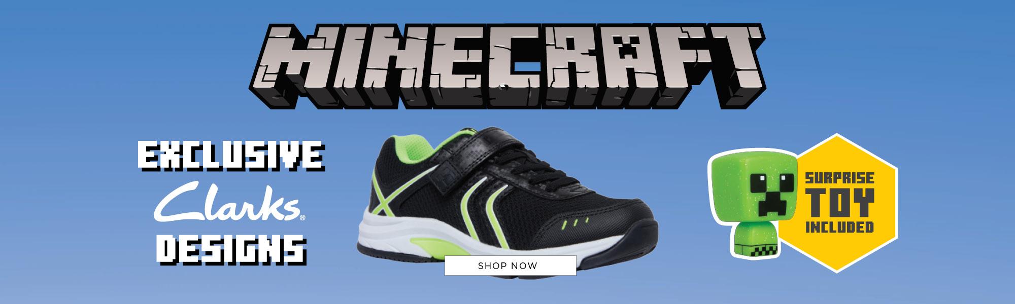Shop Clarks Minecraft Shoes